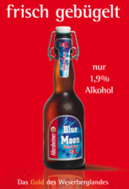 Logo Allersheimer Blue Moon - Deutschlands Bierliste Nr. 1