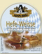 Logo Adam-bräu Hefe Weisse