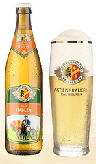 Logo Aktien-Brauerei Kaufbeuren Edles Radler