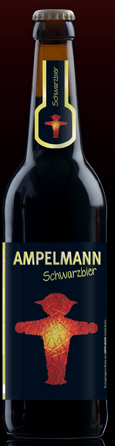 Logo Ampelmann Schwarzbier