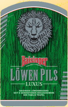 Logo Baisinger Löwen Pils