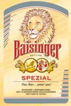 Logo Baisinger Spezial