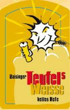 Logo Baisinger Teufel's Weisse helles Hefe