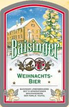 Logo Baisinger Weihnachtsbier
