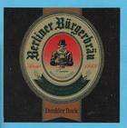 Logo Berliner Bürgerbräu Dunkler Bock