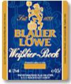 Logo Blauer Löwe Weißbier-bock