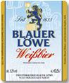 Logo Blauer Löwe Weißbier