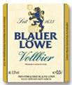 Logo Blauer Löwe Vollbier