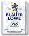 Logo Blauer Löwe Pils