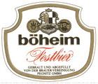 Logo Böheim Festbier