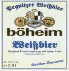 Logo Böheim Weißbier