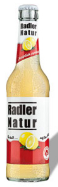 Logo Böhringer  Radler Natur