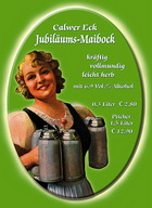 Logo Calwer Eck Jubiläums Maibock