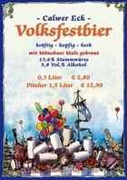 Logo Calwer Eck Volksfestbier
