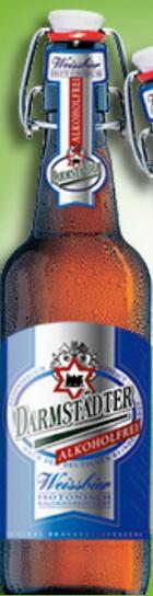 Logo DARMSTÄDTER Weissbier Hefe- Hell Alkoholfrei