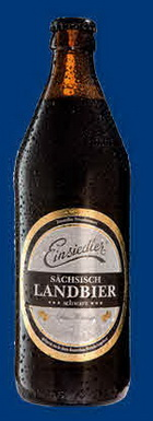 Logo Einsiedler Landbier Schwarz