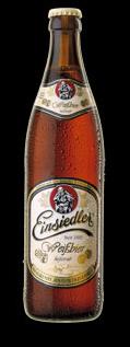 Logo Einsiedler Weißbier Hell