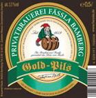 Logo Privatbrauerei Fässla Gold Pils