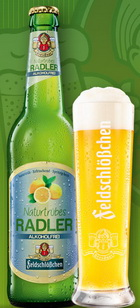 Logo Feldschlößchen Naturtrübes Radler Alkoholfrei