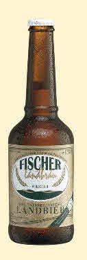 Logo Fischer Landbräu Das Landbier