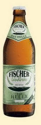 Logo Fischer Landbräu Das Helle