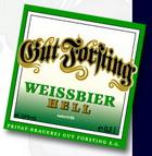 Logo Gut Forsting Weissbier Hell