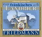 Logo Friedmann Helles Fränkisches Landbier