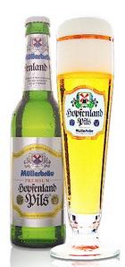 Logo Müller Premium Hopfenland Pils