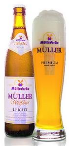 Logo Müller  Weißbier leicht