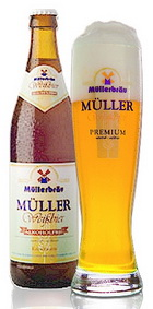 Logo Müller  Weißbier Alkoholfrei