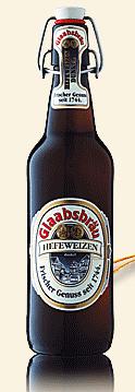 Logo Glaabsbräu Hefeweizen Dunkel