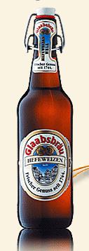 Logo Glaabsbräu Hefeweizen Hell