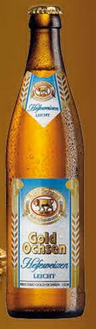 Logo Gold Ochsen Weizenbier Leicht