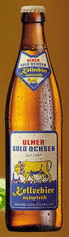 Logo Gold Ochsen Kellerbier Naturtrüb