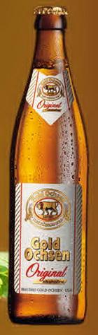 Logo Gold Ochsen Original Alkoholfrei