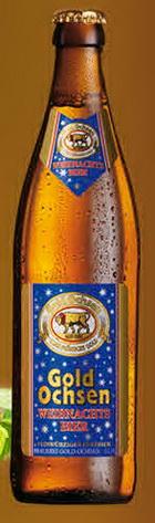 Logo Gold Ochsen Weihnachtsbier