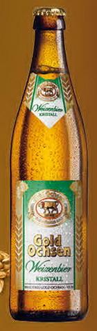 Logo Gold Ochsen Weizenbier Kristall
