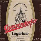Logo Gunzendorfer Lagerbier