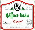 Logo Häffner Bräu Export