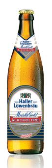 Logo Haller Löwenbräu Meistergold Alkoholfrei