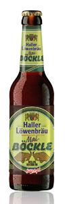Logo Haller Löwenbräu Mai Böckle