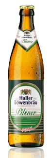 Logo Haller Löwenbräu Pilsner