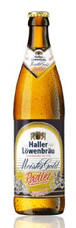 Logo Haller Löwenbräu Meistergold Radler