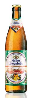Logo Haller Löwenbräu Weihnachtsbier