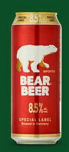 Logo Harboe Bear Beer 8,5%