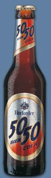 Logo Herforder 50/50 Cola