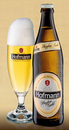 Logo Hofmann Hopfengold-pilsene