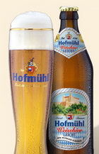 Logo Hofmühl Weissbier leicht