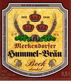 Logo Merkendorfer Hummel-bräu Bock Dunkel