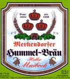 Logo Merkendorfer Hummel-bräu Heller Maibock